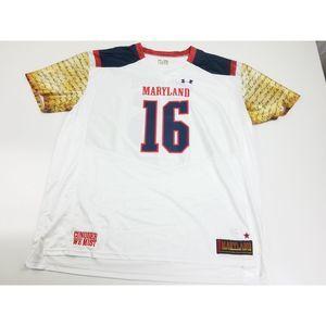 Maryland Terrapins Triumph Football Jersey 4XL